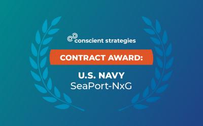 Conscient Strategies Wins SeaPort-NxG Vehicle